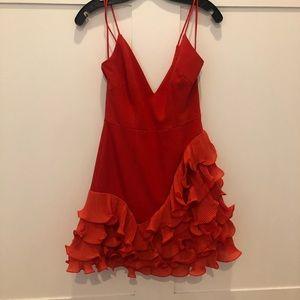 Talulah low cut mini dress S